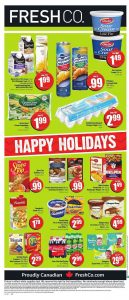 FreshCo Flyer Christmas Sale 13 Dec 2018