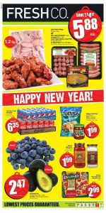 FreshCo Flyer Christmas Sale 27 Dec 2018