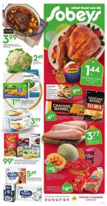 Sobeys Flyer Christmas Sale 14 Dec 2018