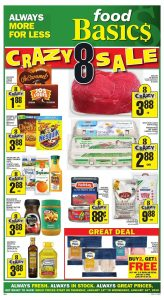 Food Basics Flyer Crazy Sale 13 Jan 2019