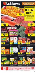 Loblaws Flyer Dollar Days 15 Jan 2019