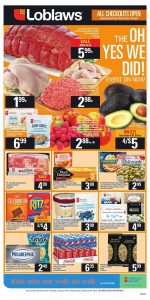 Loblaws Flyer Special Sale 5 Feb 2019