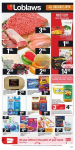 Loblaws Flyer Weekend Sale 22 Feb 2019