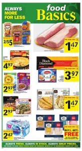 Food Basics Flyer Special Sale 17 Mar 2019