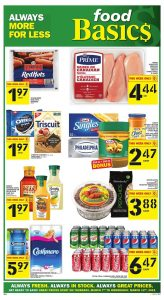 Food Basics Flyer Special Sales 10 Mar 2019