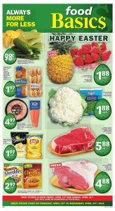 Food Basics Flyer Easter Deals 23 Apr 2019
