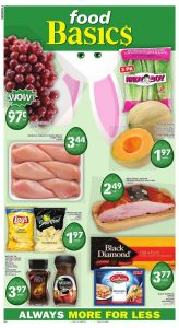 Food Basics Flyer Easter Sale 15 Apr 2019