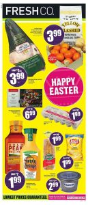 FreshCo Flyer Easter Sale 18 Apr 2019
