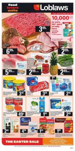 Loblaws Flyer Easter Sale 21 Apr 2019
