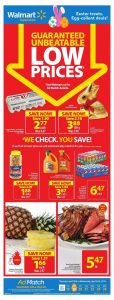 Walmart Flyer Easter Sale 20 Apr 2019