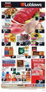 Loblaws Flyer Weekly Deals 3 May 2019