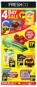 FreshCo Flyer Special Sale 2 Jul 2019