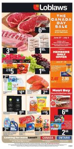 Loblaws Flyer Special Deals 27 Jun 2019