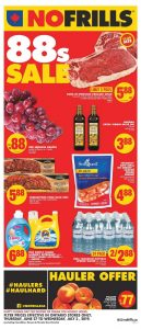 No Frills Flyer Special Deals 1 Jul 2019