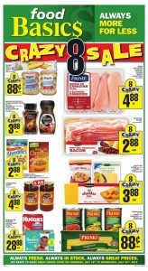 Food Basics Flyer Special Sale 21 Jul 2019