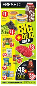 FreshCo Flyer Special Deals 25 Jul 2019