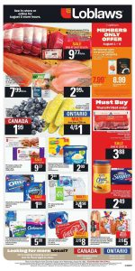 Loblaws Flyer Special Deals 7 Aug 2019