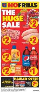 No Frills Flyer Huge Sale 28 Jul 2019