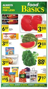Food Basics Flyer Special Sale 18 Aug 2019