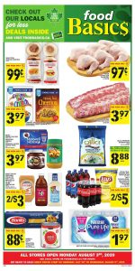 Food Basics Flyer Weekly Deals 01 Aug 2020