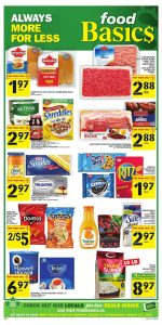 Food Basics Flyer Weekly Offers 12 Aug 2020