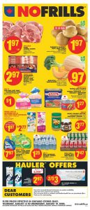 No Frills Flyer Weekly Deals 13 Aug 2020