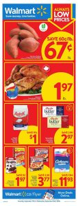 Walmart Flyer Special Sales 22 Sept 2020