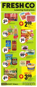 FreshCo Flyer Special Offers 26 Aug 2021